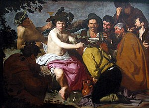 THE DRUNKARDS BY VELAZQUEZ