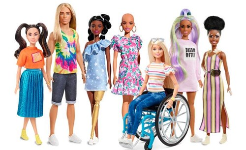 New Fashionist Barbies