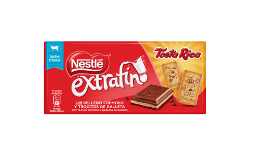 Nestlé launches three new chocolate bars filled with biscuit